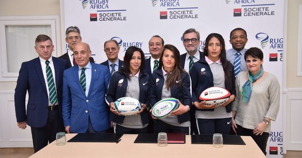French bank Société Générale has signed a two-year agreement with Rugby Africa to help develop the sport ©Rugby Africa