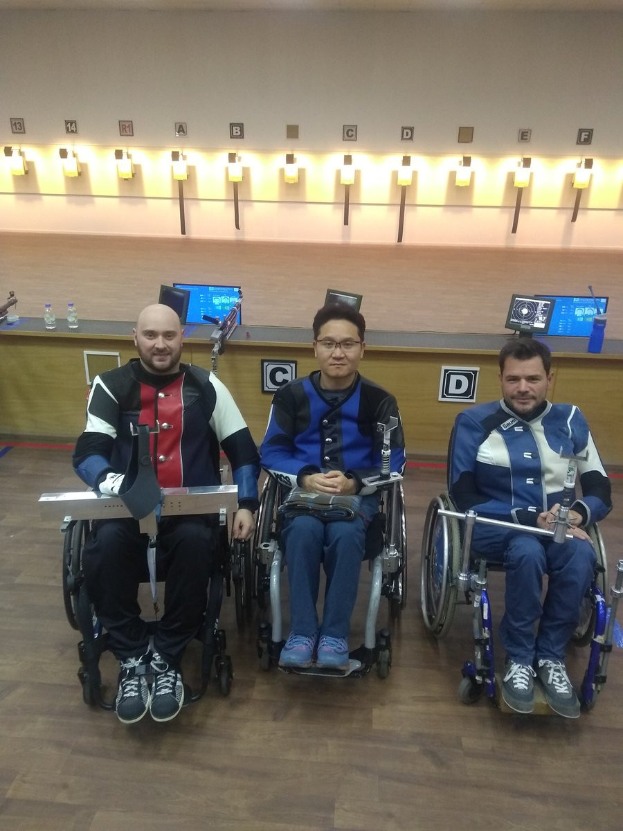 Two-time Paralympic medallist Kim claims gold at Ali Ain Shooting Para Sport World Cup