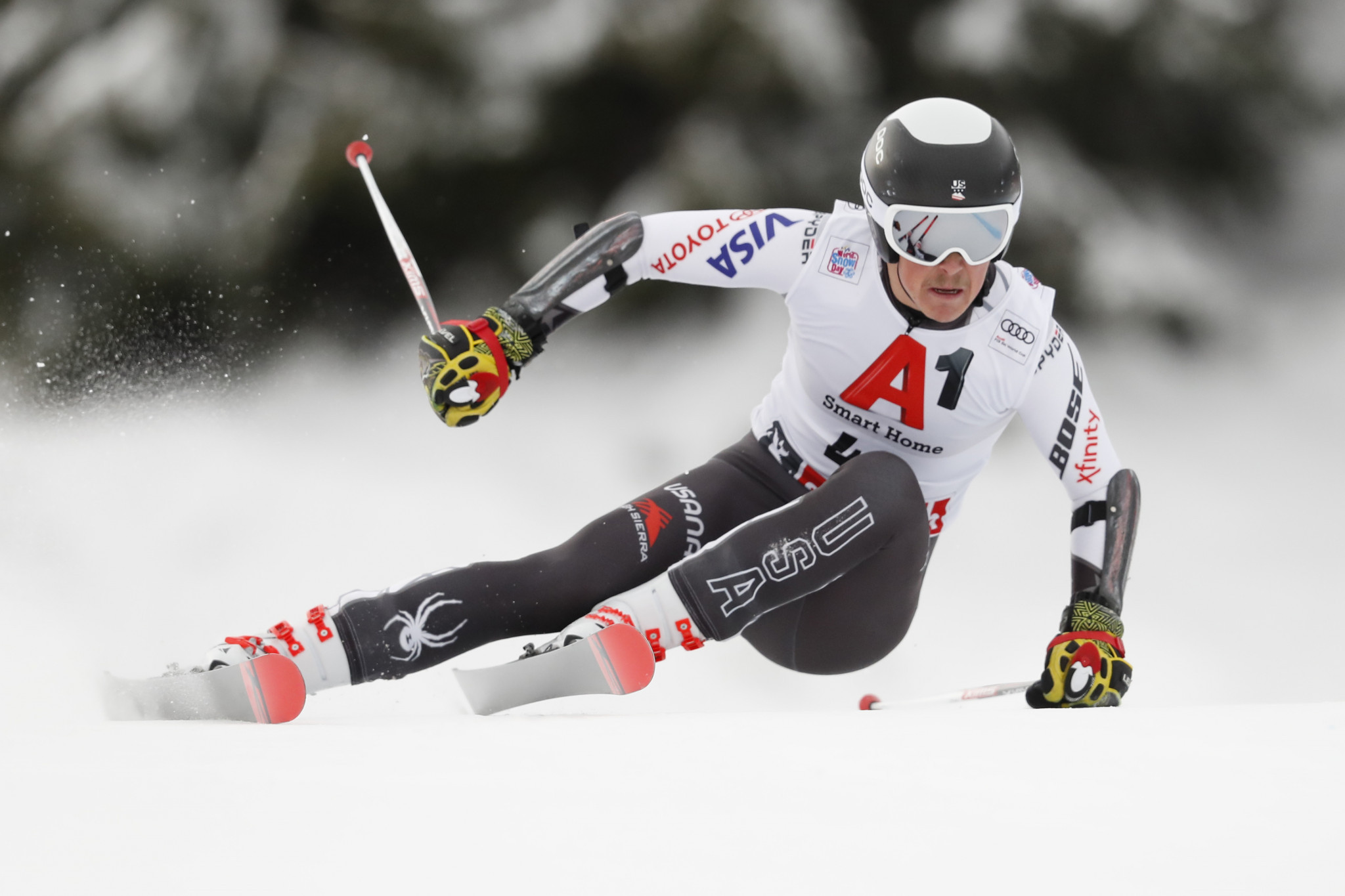 First medal for US at FIS World Junior Alpine Skiing Championships as Radamus wins men's super-G