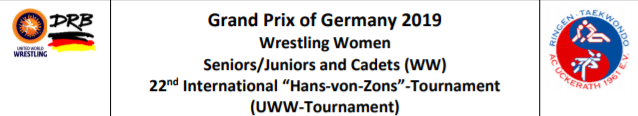 Women's freestyle set to take centre stage at UWW Grand Prix of Germany in Dormagen
