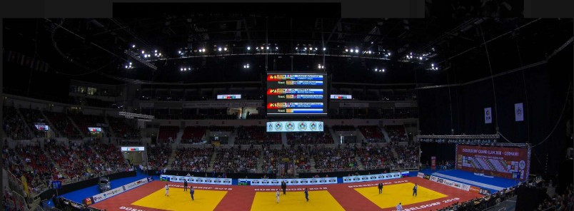 The ISS Dome will play host to the action in Düsseldorf ©IJF
