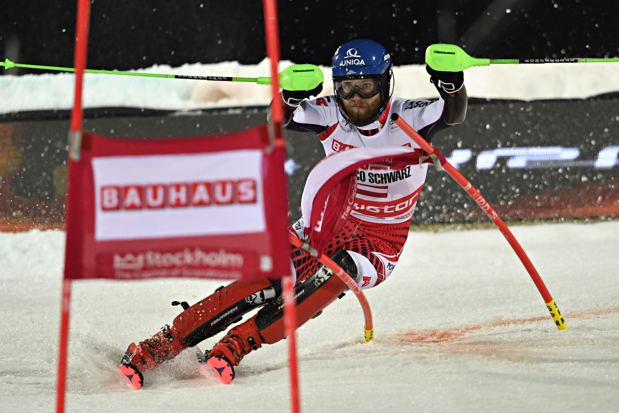 Austria's Marco Schwarz is the current leader in the Alpine combined category in the FIS World Cup Alpine Skiing ©Getty Images