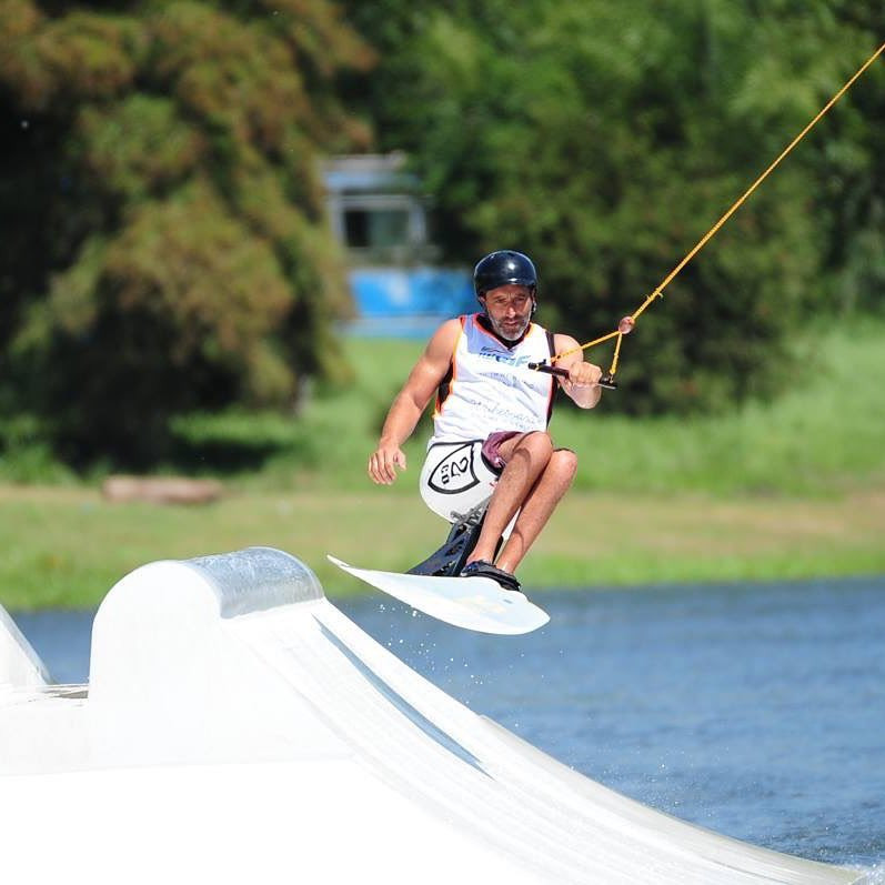 Action continued today at the IWWF World Cable Wakeboard and Wakeskate Championships in Buenos Aires ©IWWF/Facebook