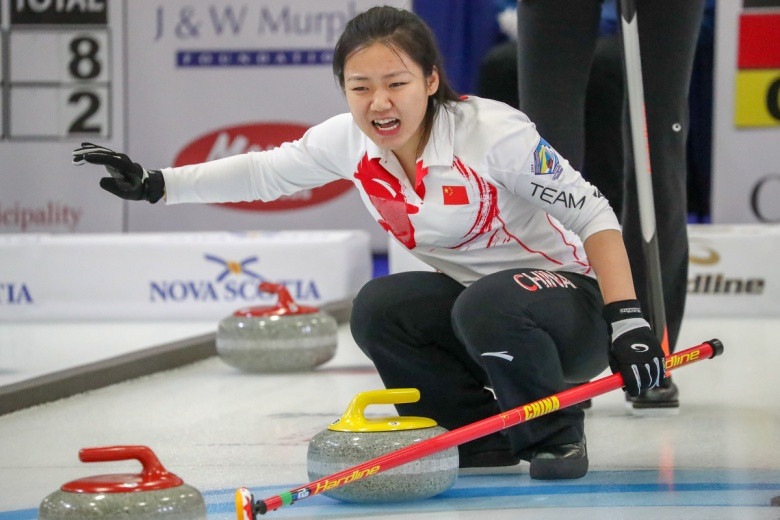 China moved clear at the top of the women's standings by thrashing Switzerland ©WCF