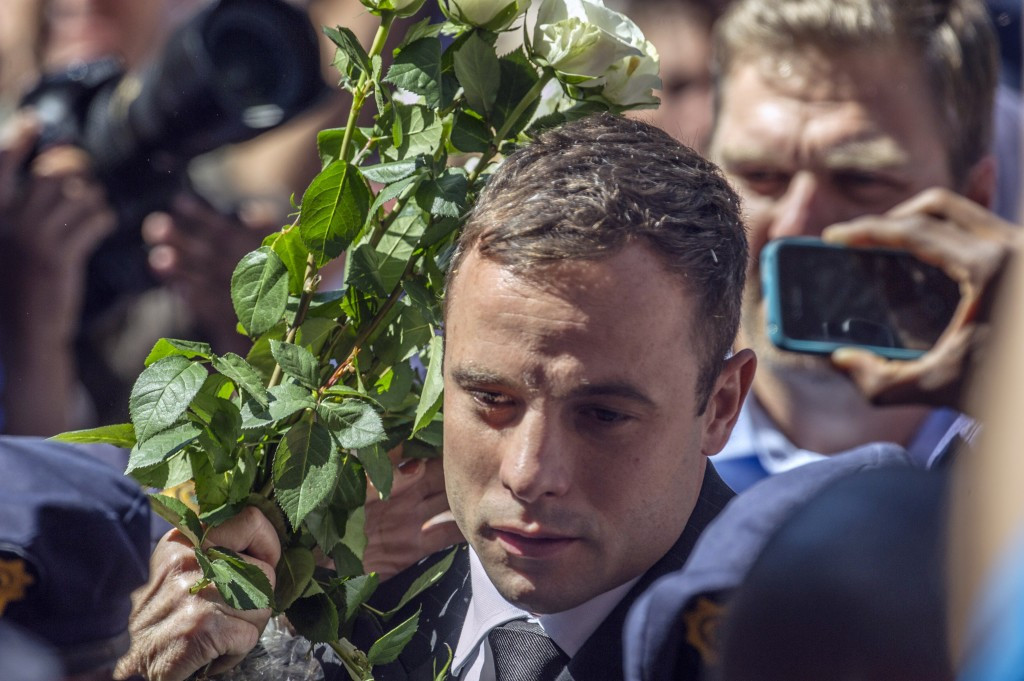 Oscar Pistorius has been released from prison on house arrest ©AFP/Getty Images