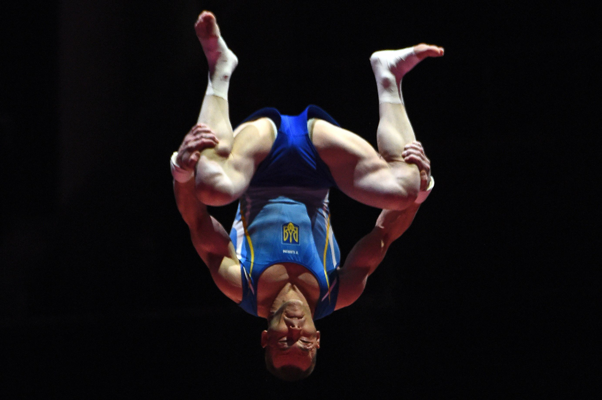 Olympic bronze medallist Igor Radivilov of Ukraine secured top spot in the men's vault qualification round ©Getty Images