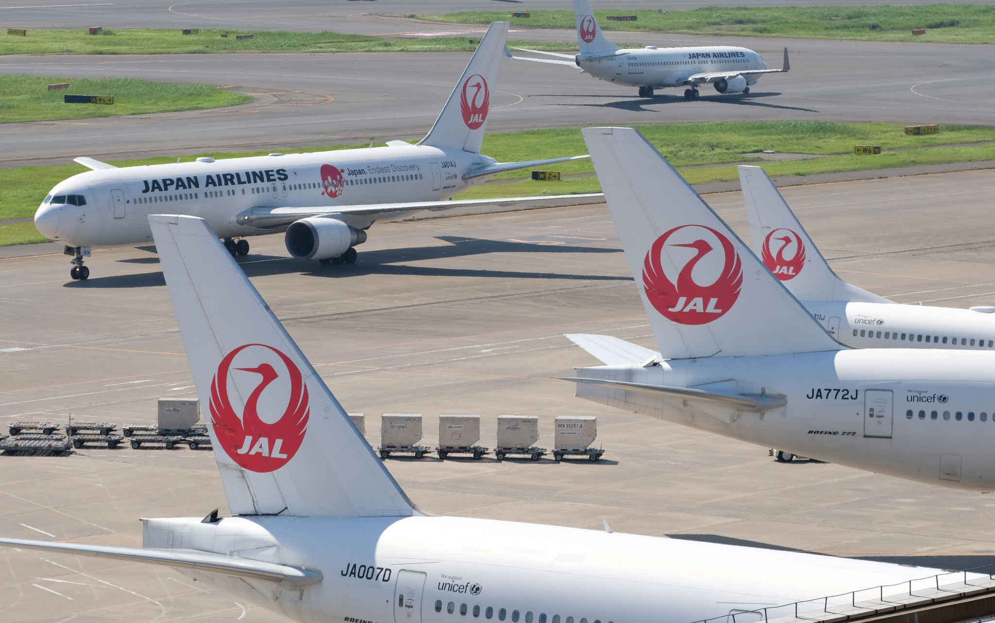 Japan Airport Terminal, which operates Haneda Airport, has become an official partner of Tokyo 2020 ©Getty Images