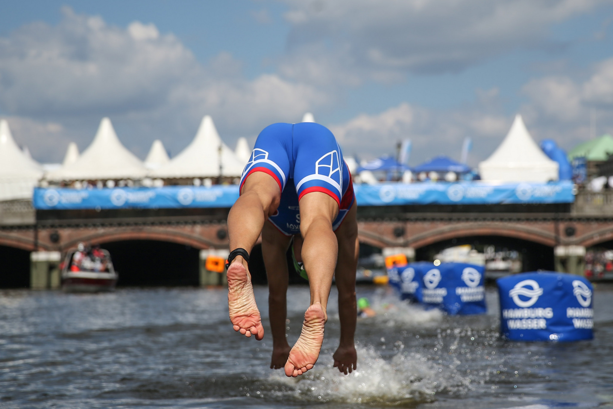The International Triathlon Union has claimed several benefits for cities hosting events ©Getty Images