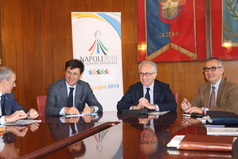 Caserta establishes Committee to oversee organisation of cultural events linked to Naples 2019 Summer Universiade