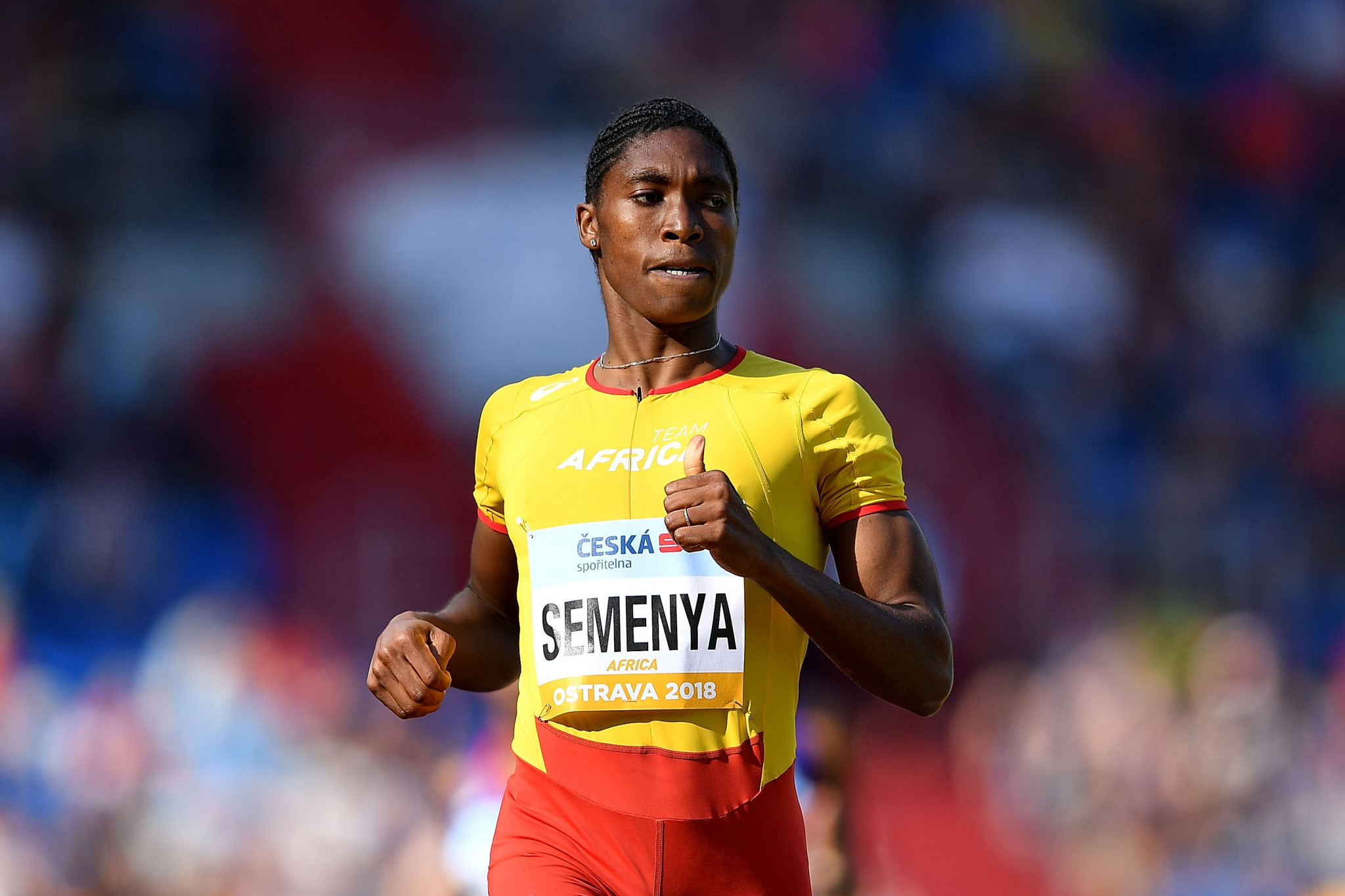 Caster Semenya is a double Olympic champion over 800 metres ©Getty Images