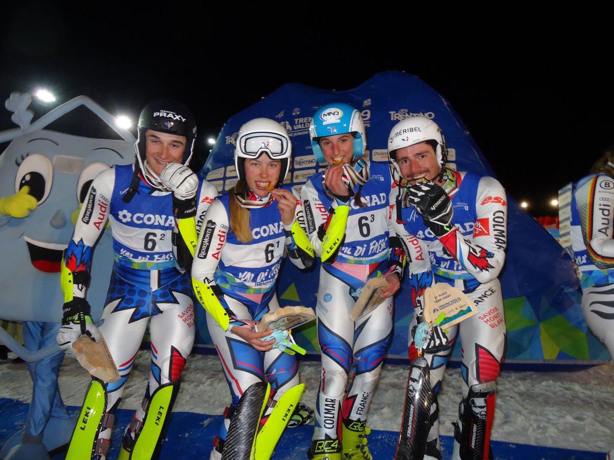 France shock United States to win team title at FIS World Junior Alpine Skiing Championships