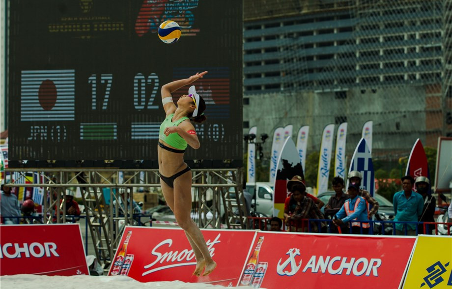 Four Japanese teams make round-of-16 at FIVB Beach World Tour event in Phnom Penh