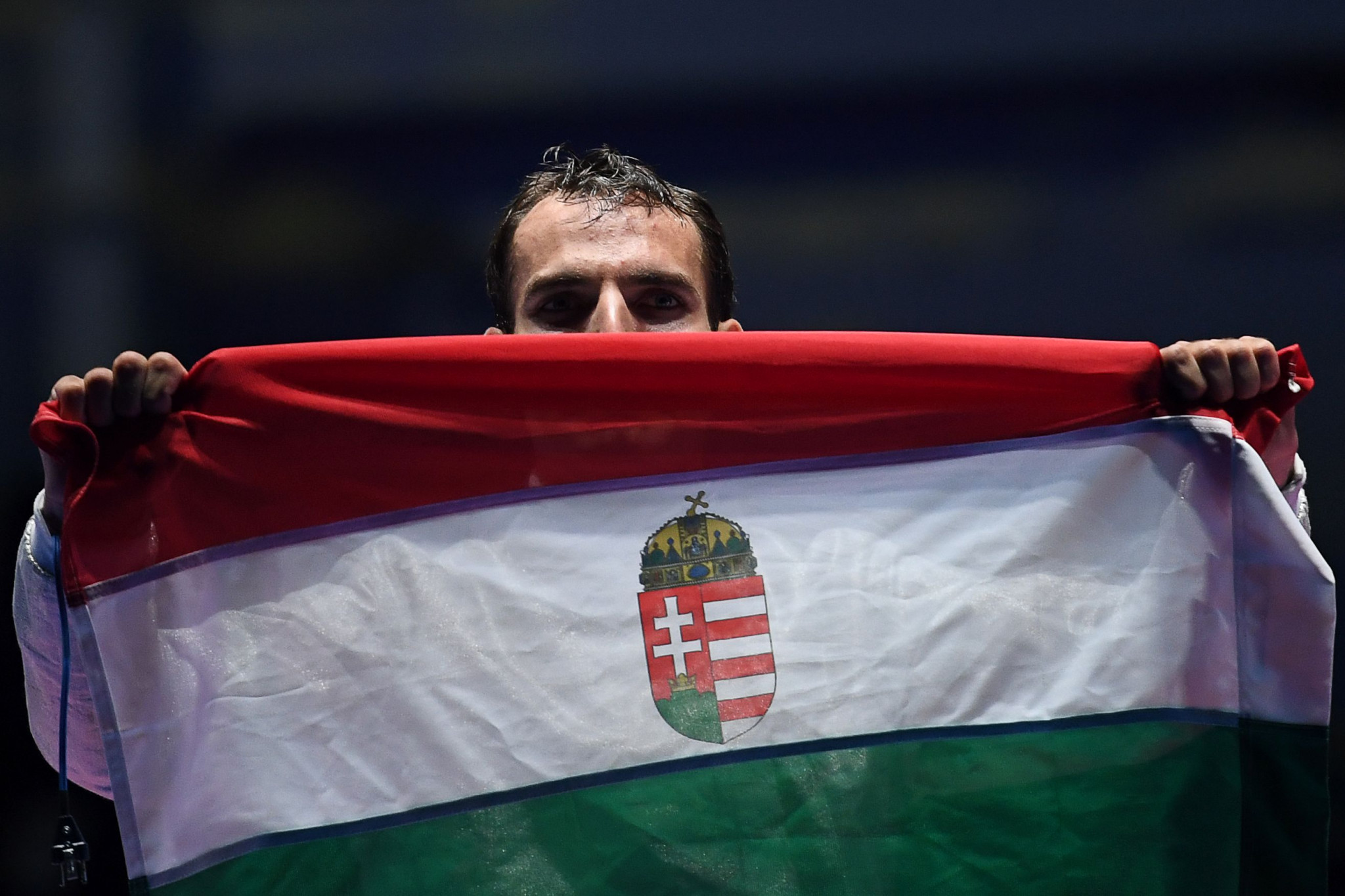 Aron Szilágyi of Hungary, the reigning Olympic champion, is among the stars to begin in the last 64 ©Getty Images