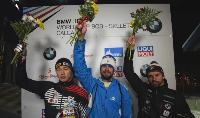 Tretiakov and Nikitina extend overall skeleton leads at IBSF World Cup