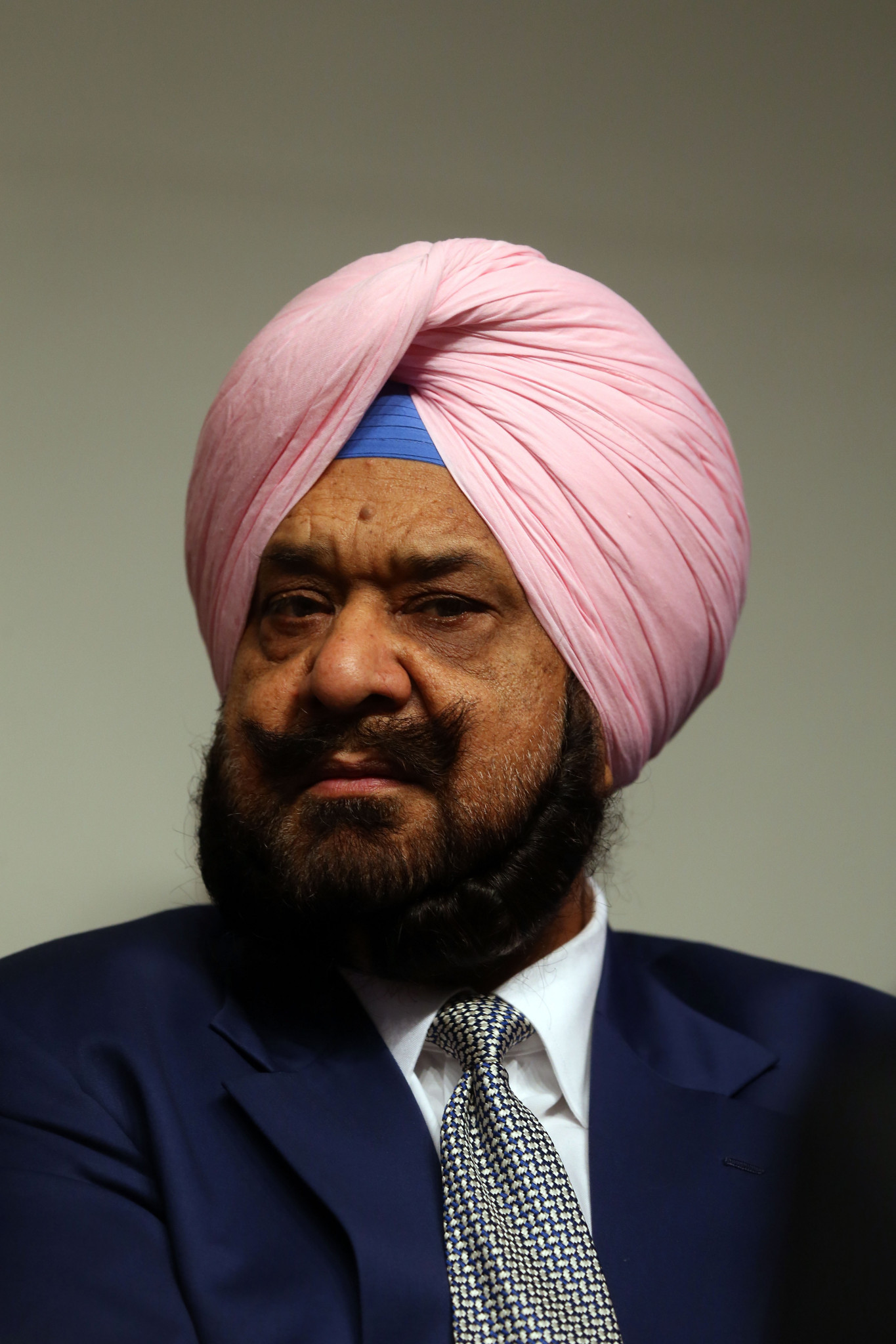 Raja Randhir Singh headed the visit in the Chinese city ©Getty Images