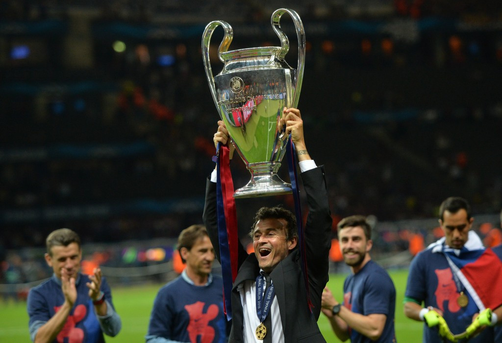 Barcelona manager Luis Enrique is the favourite for the FIFA Coach of the Year award after guiding the Spanish club to the treble last season