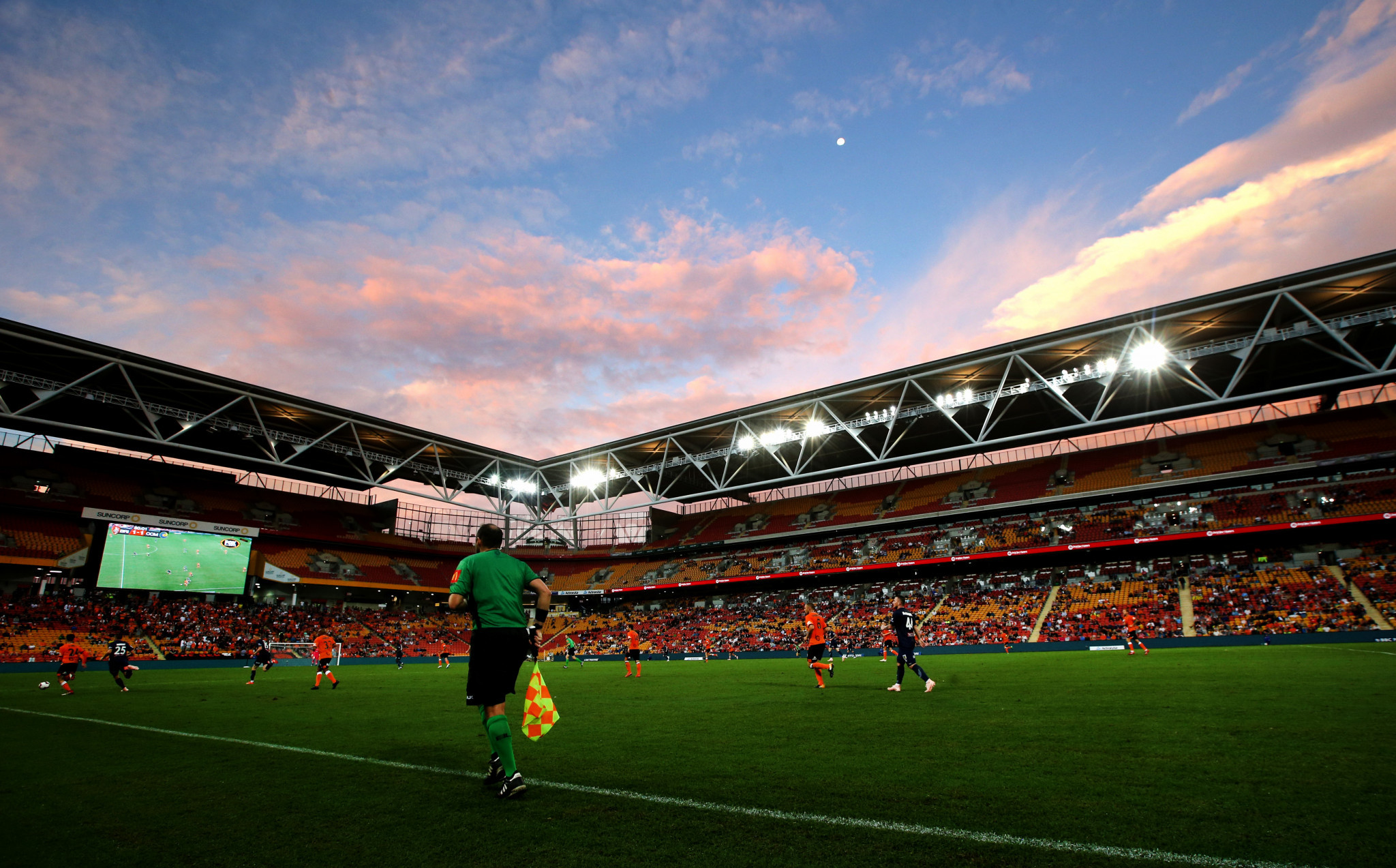 Another major stadium would have to be built in Queensland to go alongside the Suncorp Stadium if Brisbane hosts the Games ©Getty Images