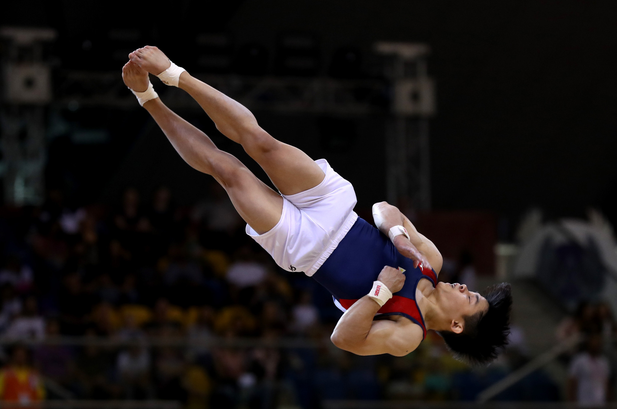Carlos Edriel Yulo of The Philippines claimed victory in the men's floor event ©Getty Images