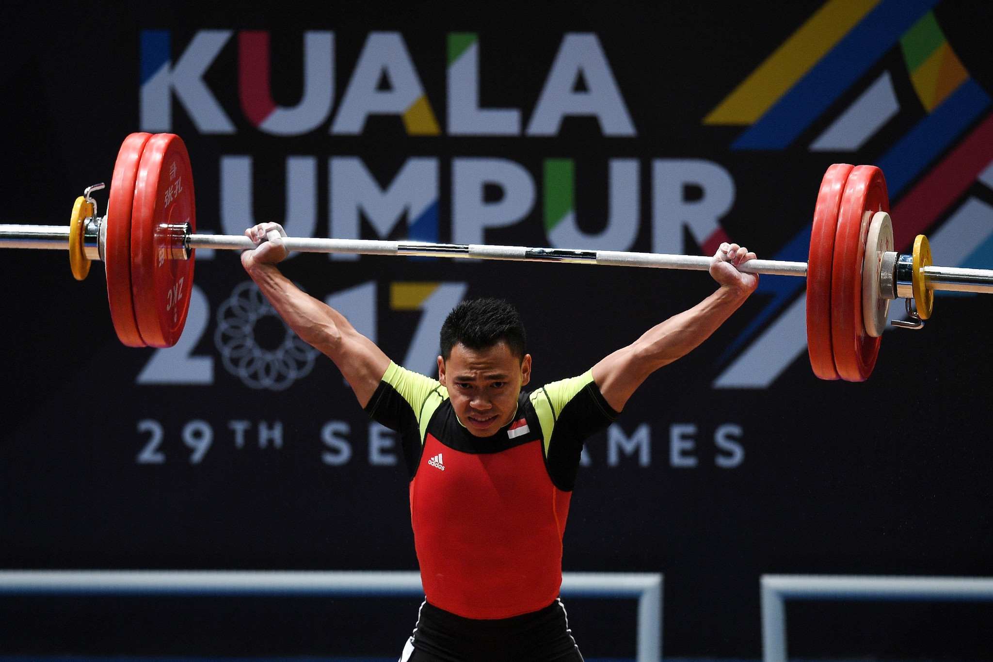 Eko Yuli Irawan of Indonesia was among the winners today ©Getty Images