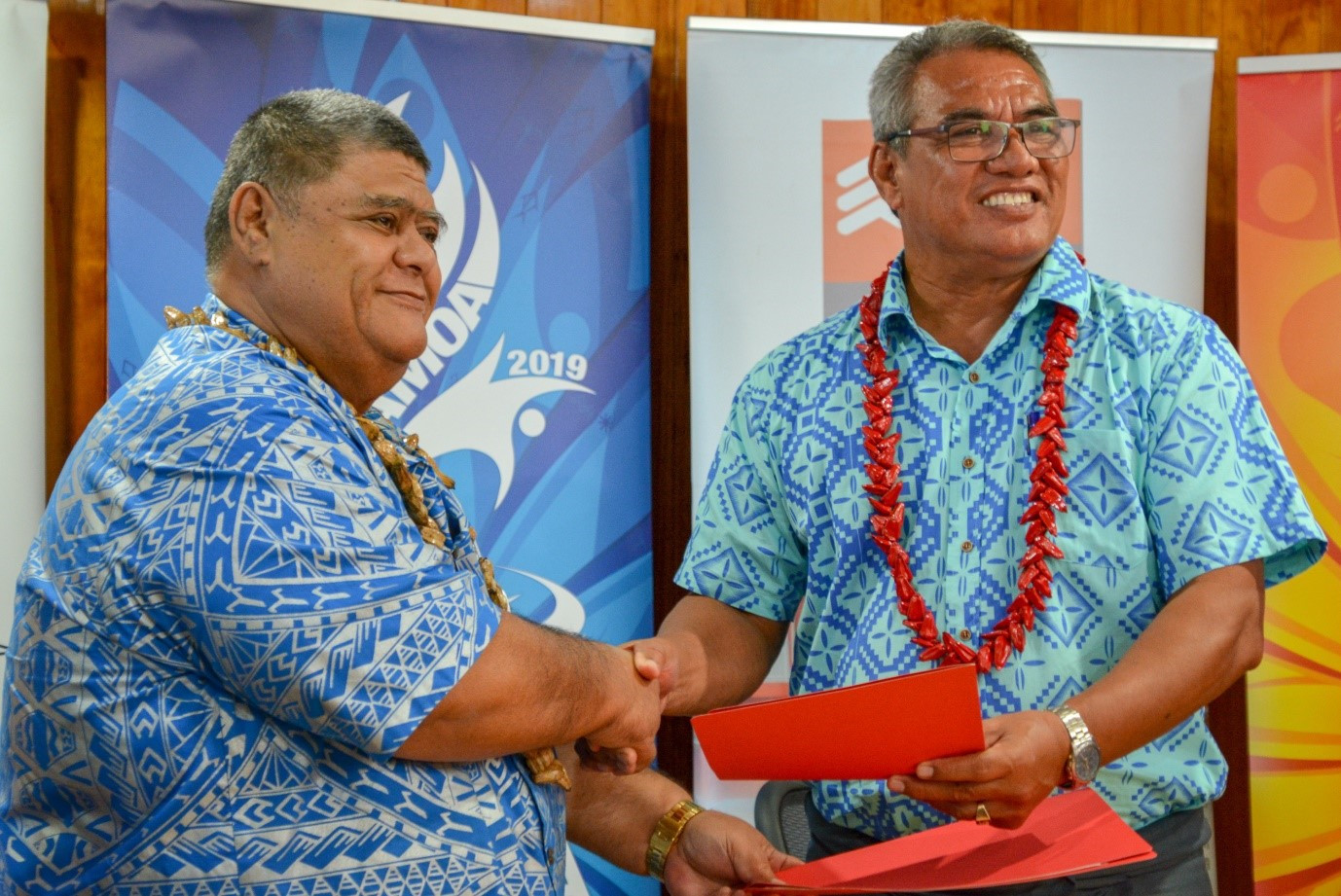 Samoa Shipping Corporation sign up as Pacific Games sponsor
