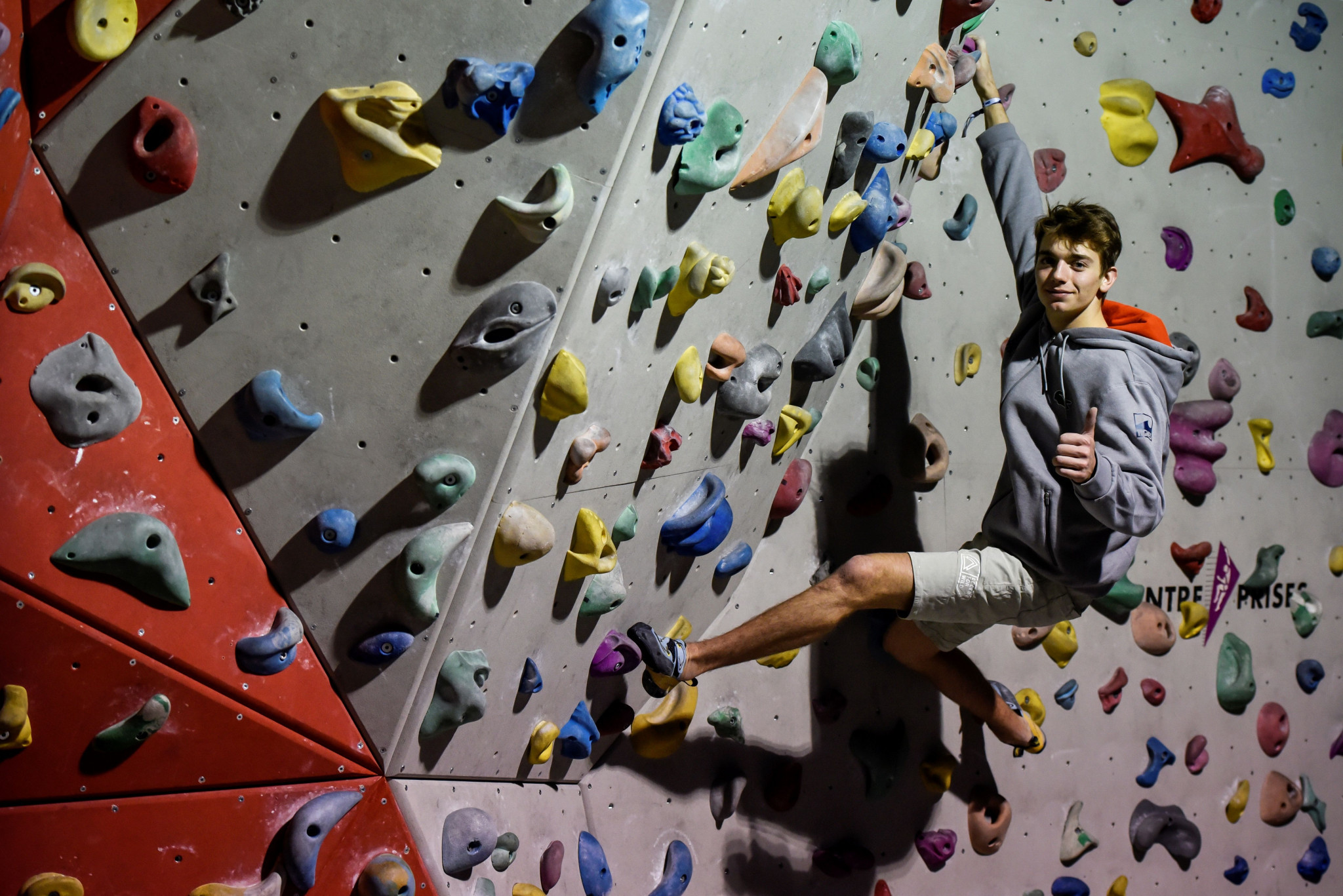 "IFSC President hails sport climbing's ""rapid rise"" following proposal for Paris 2024 inclusion"
