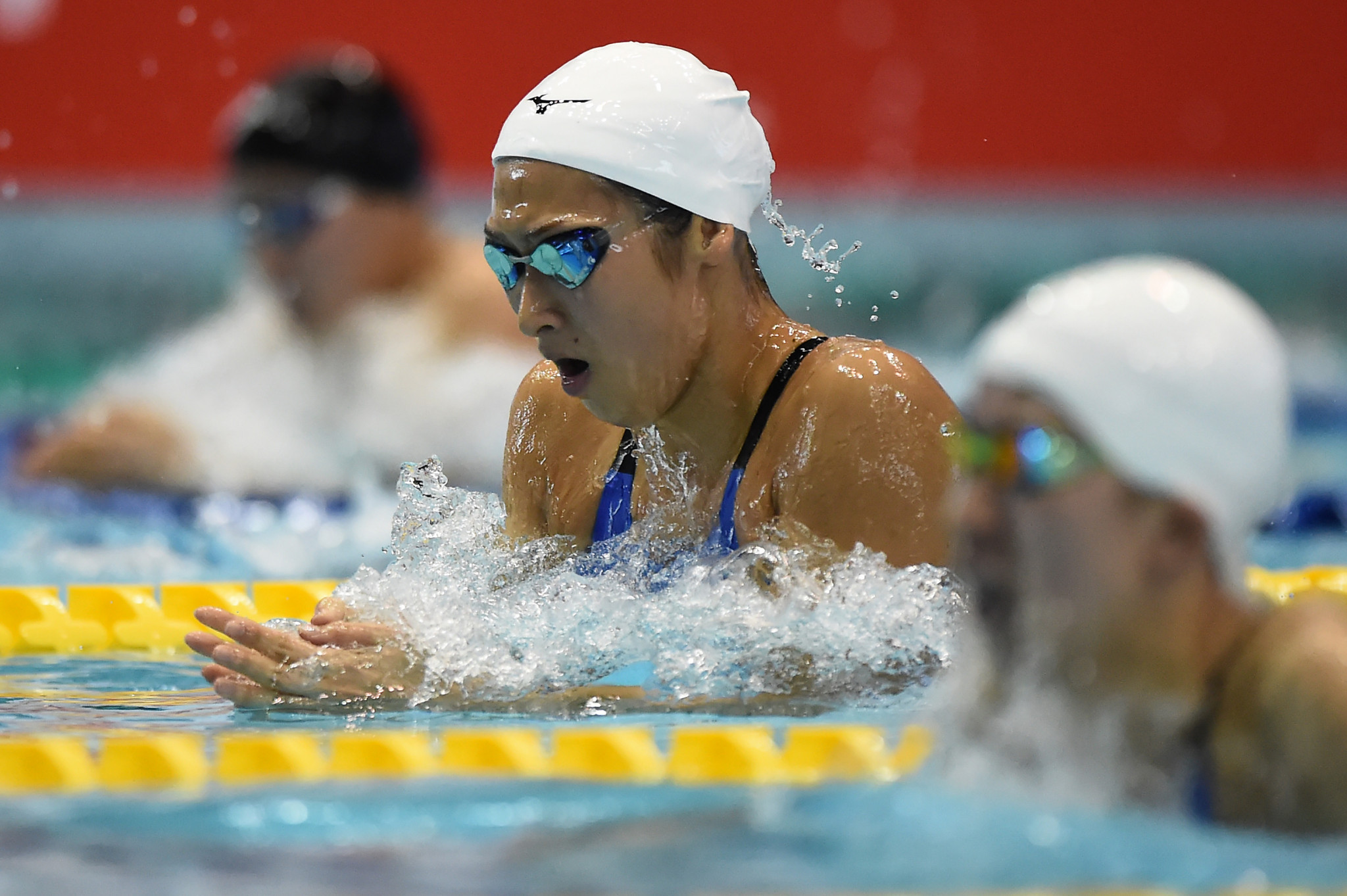 Yoshitaka Sakurada apologised for comments he made about the leukemia diagnosis of Japan's star swimmer Rikako Ikee ©Getty Images