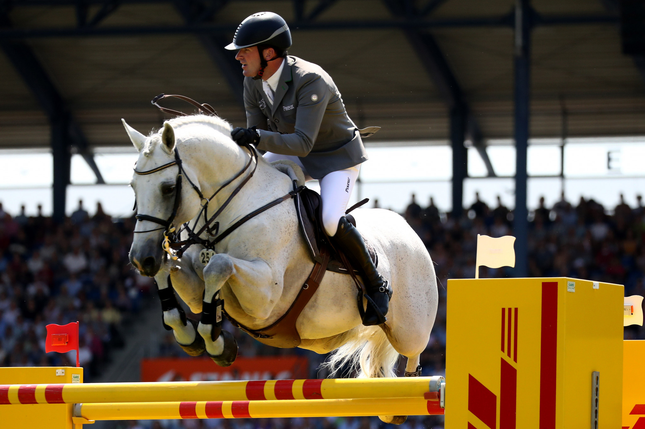 Philipp Weishaupt was part of the victorious German team ©Getty Images