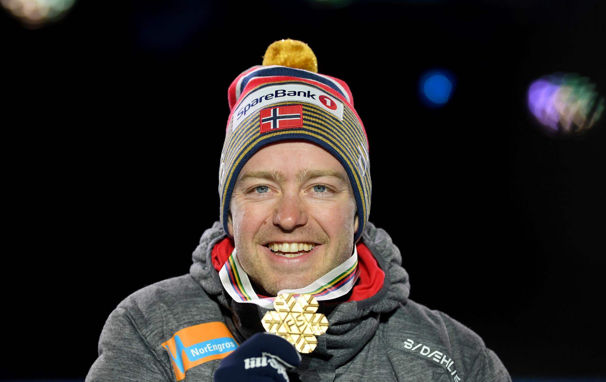 Norway celebrate double skiathlon gold as Eisenbichler earns ski jumping crown at FIS Nordic World Ski Championships