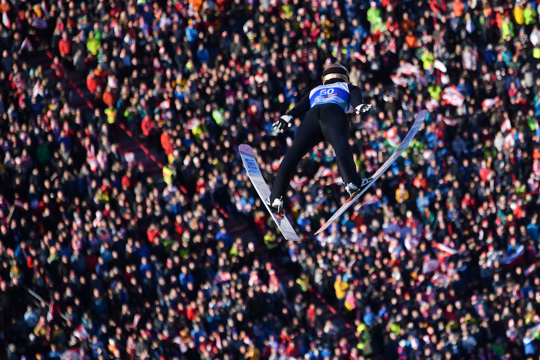 World Cup leader Ryoyu Kobayashi missed out on a podium finish as Switzerland's Kilian Peier won bronze ©Getty Images