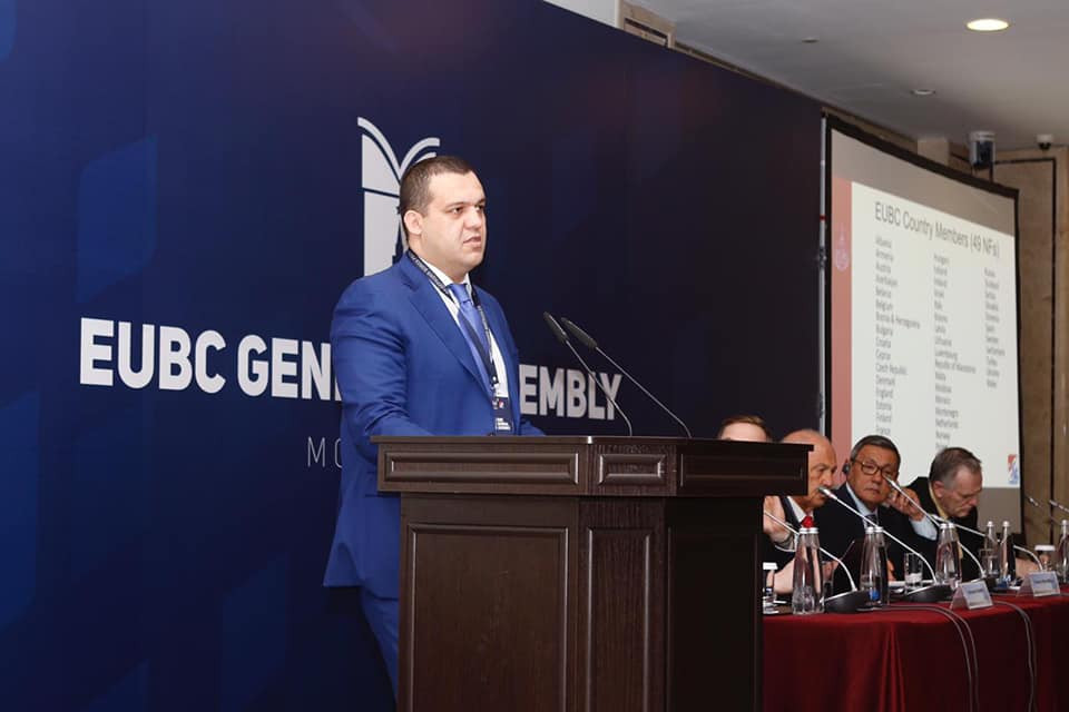 Umar Kremlev, secretary general of the Russian Boxing Federation, was elected first vice-president of the EUBC - putting him in pole position to succeed Franco Falcinelli as President if he is forced out ©RBF