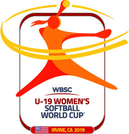 The new logo for the Under-19 Women's Softball World Cup ©WBSC