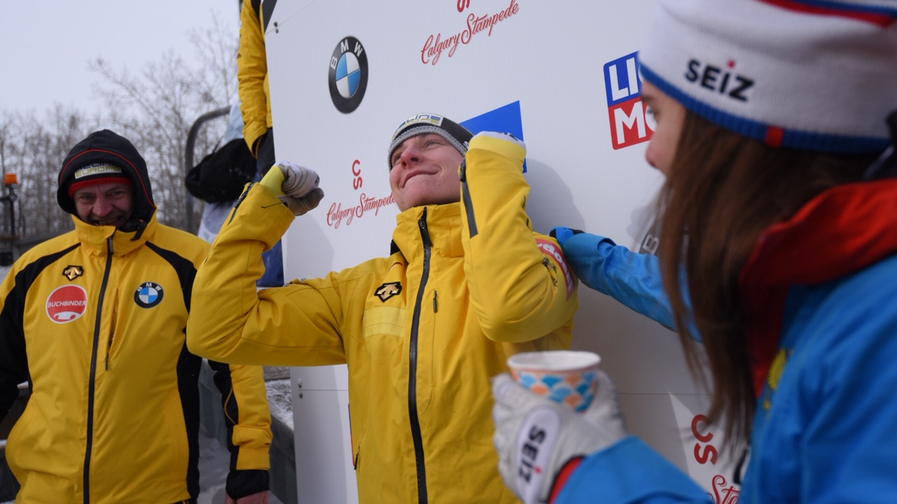 Elena Nikitina is the first Russian to win the women's skeleton World Cup title ©IBSF