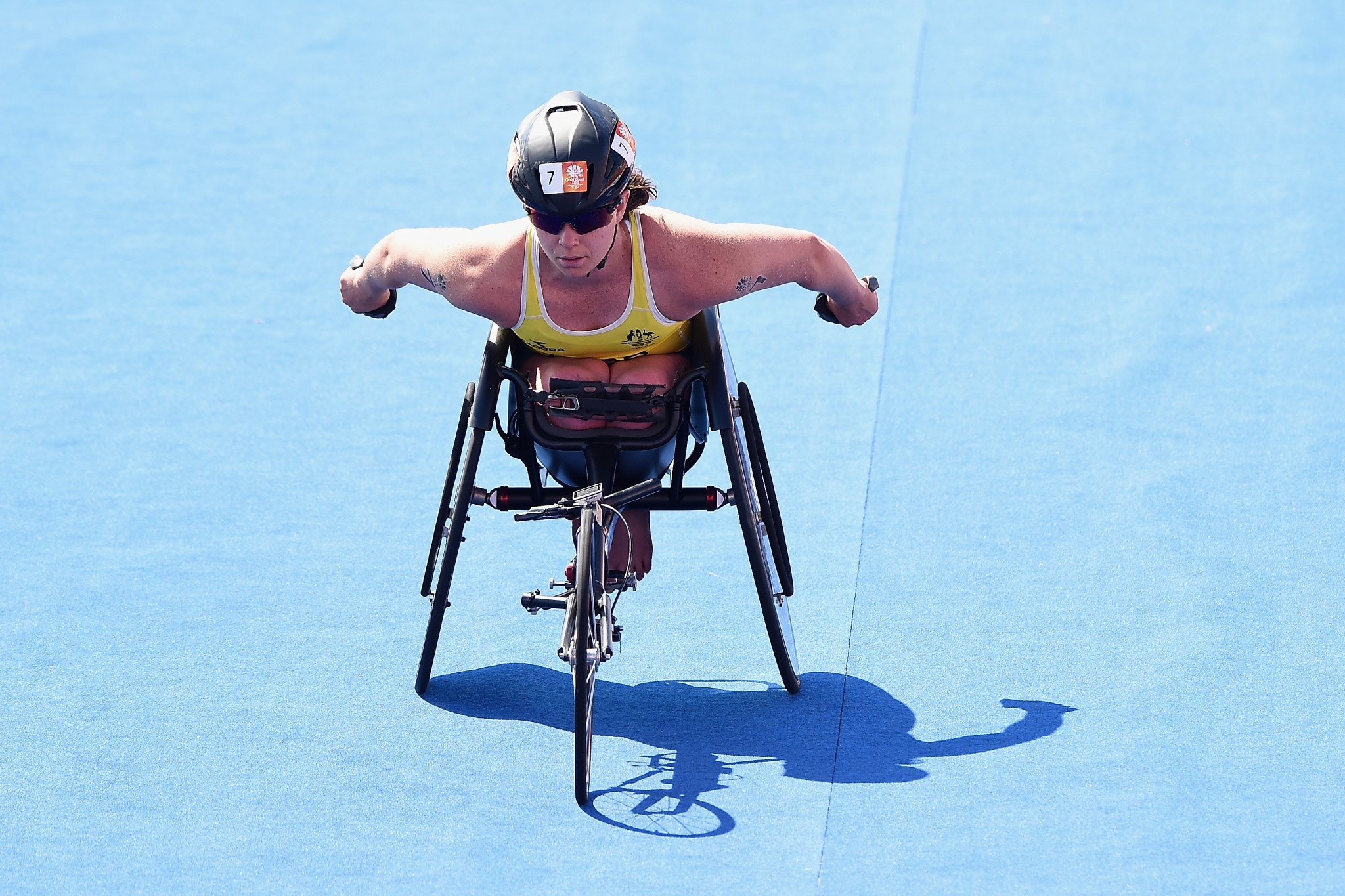 Parker among gold medallists at Oceania Paratriathlon Championships