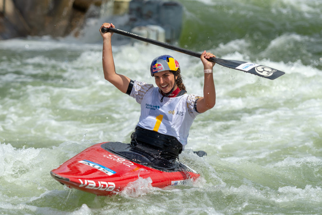 Fox triumphs in women's C1 to claim second title of Oceania Canoe Slalom Championships