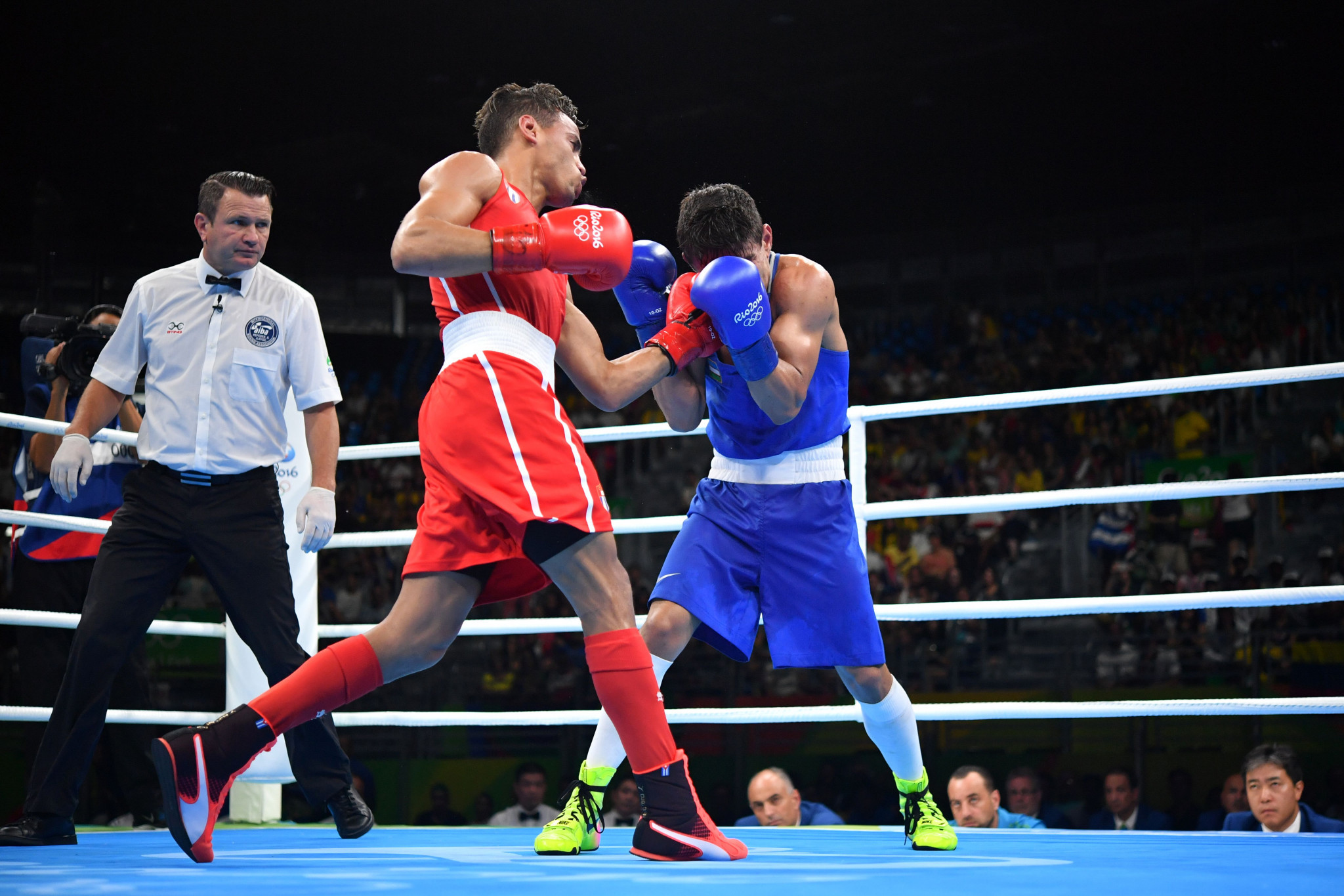 Boxing's Olympic future remains very much in doubt ©Getty Images