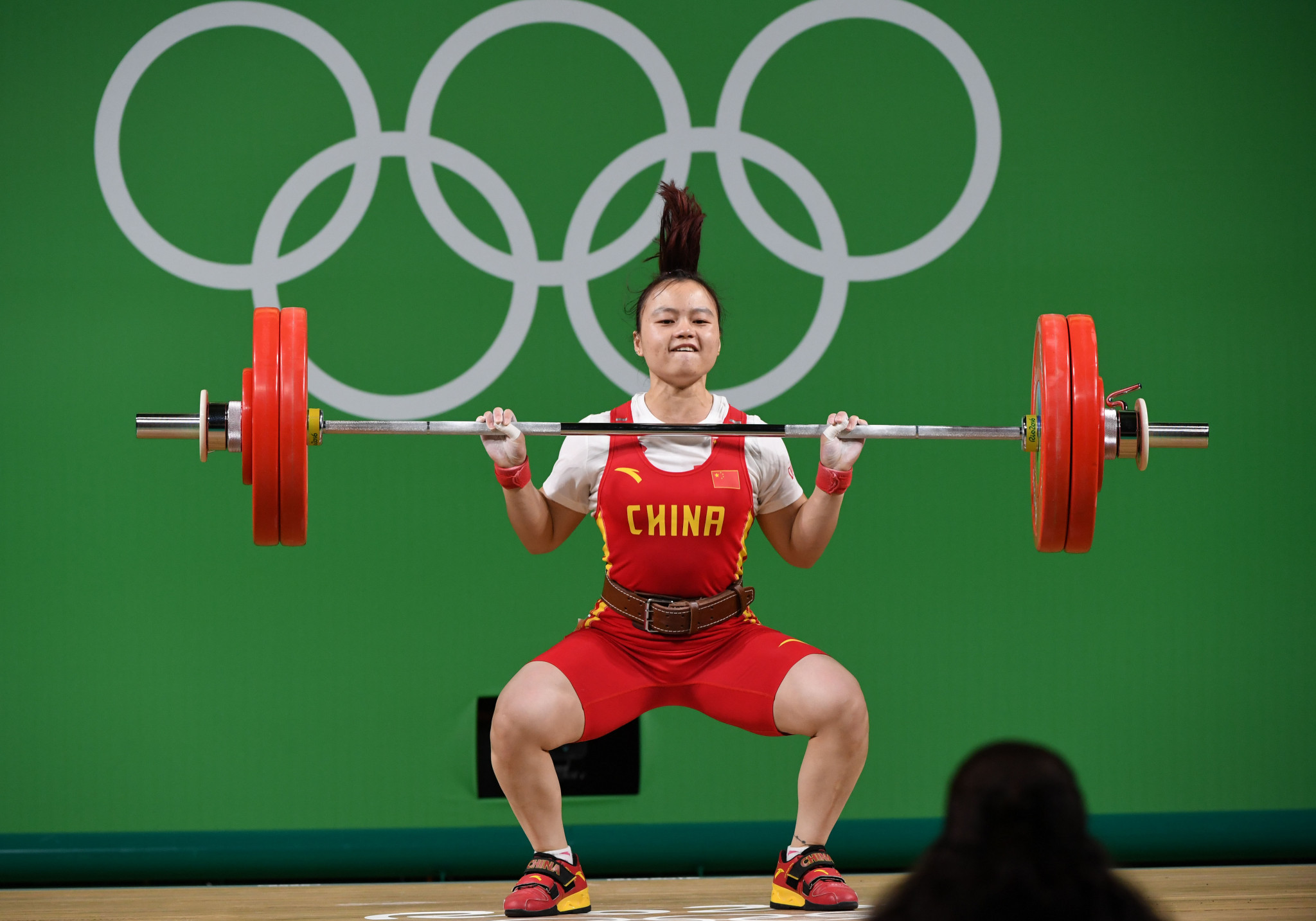 Li Yajun, in line to be upgraded to world champion, won a silver medal today ©Getty Images