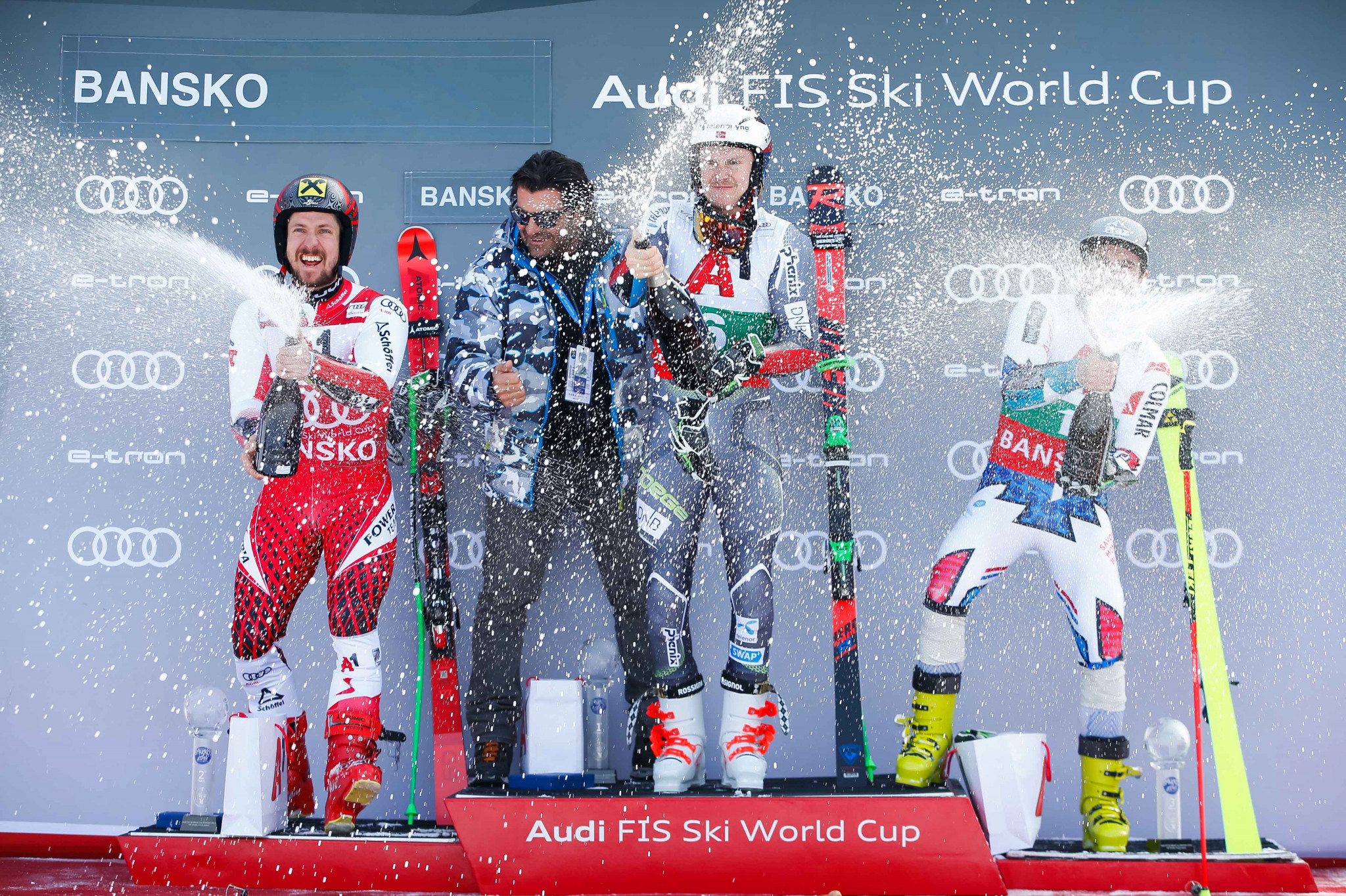 Kristoffersen gains first Alpine Skiing World Cup win of the season in Bansko giant slalom