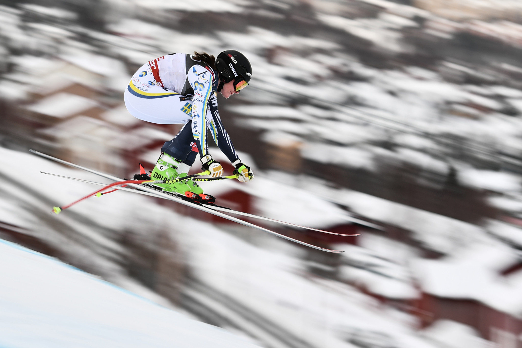 Ida Dannewitz finished third in the women's Alpine combined ©Getty Images