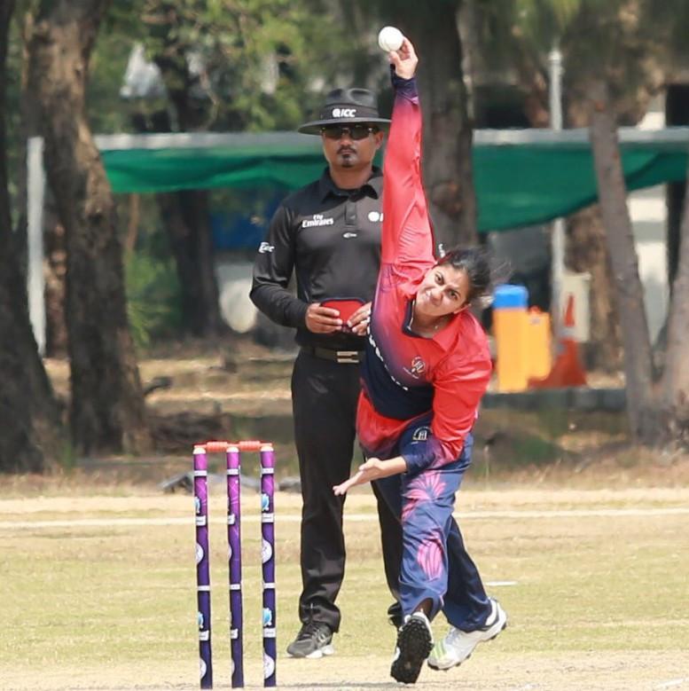 Thailand thrashed Kuwait to maintain their perfect start ©Thailand Cricket