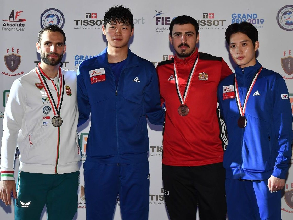 South Korea's Oh defeats reigning Olympic champion to win FIE Sabre Grand Prix title in Cairo