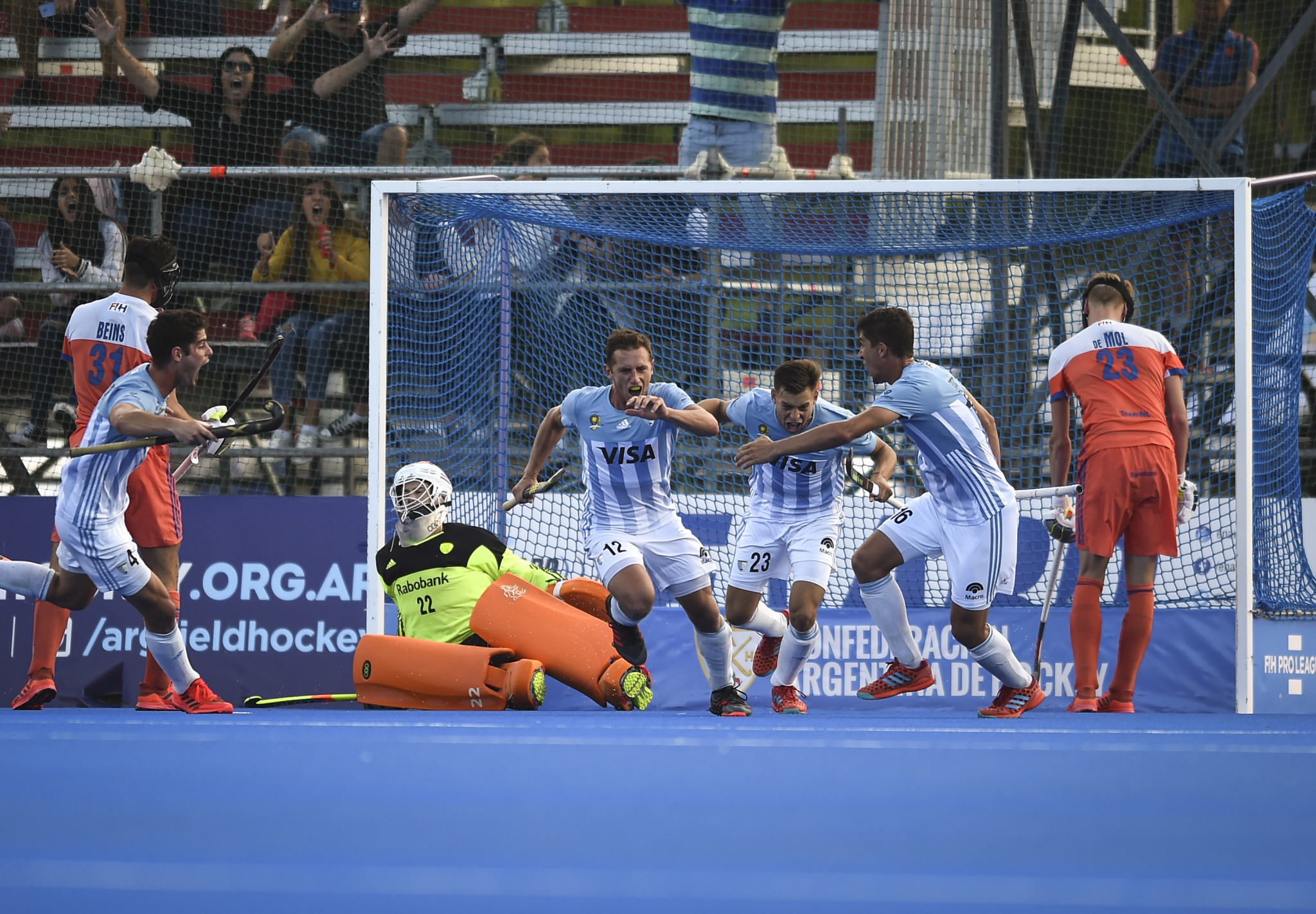 Olympic champions Argentina beat Netherlands to claim first victory in men's FIH Pro League
