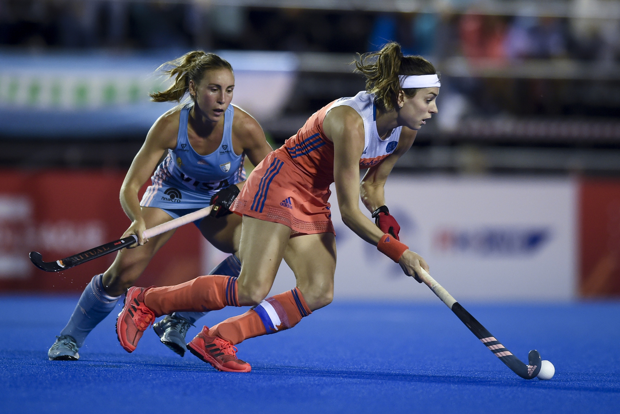 The Netherlands got the better of Argentina in the women's match held in Buenos Aires ©Getty Images