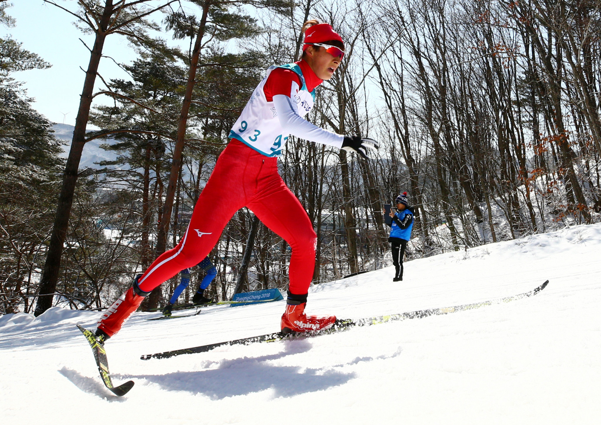 Japan's 18-year-old Taiki Kawayoke won his first title in the men's standing long distance cross-country race at the World Para Nordic Skiing Championships in Prince George ©Getty Images