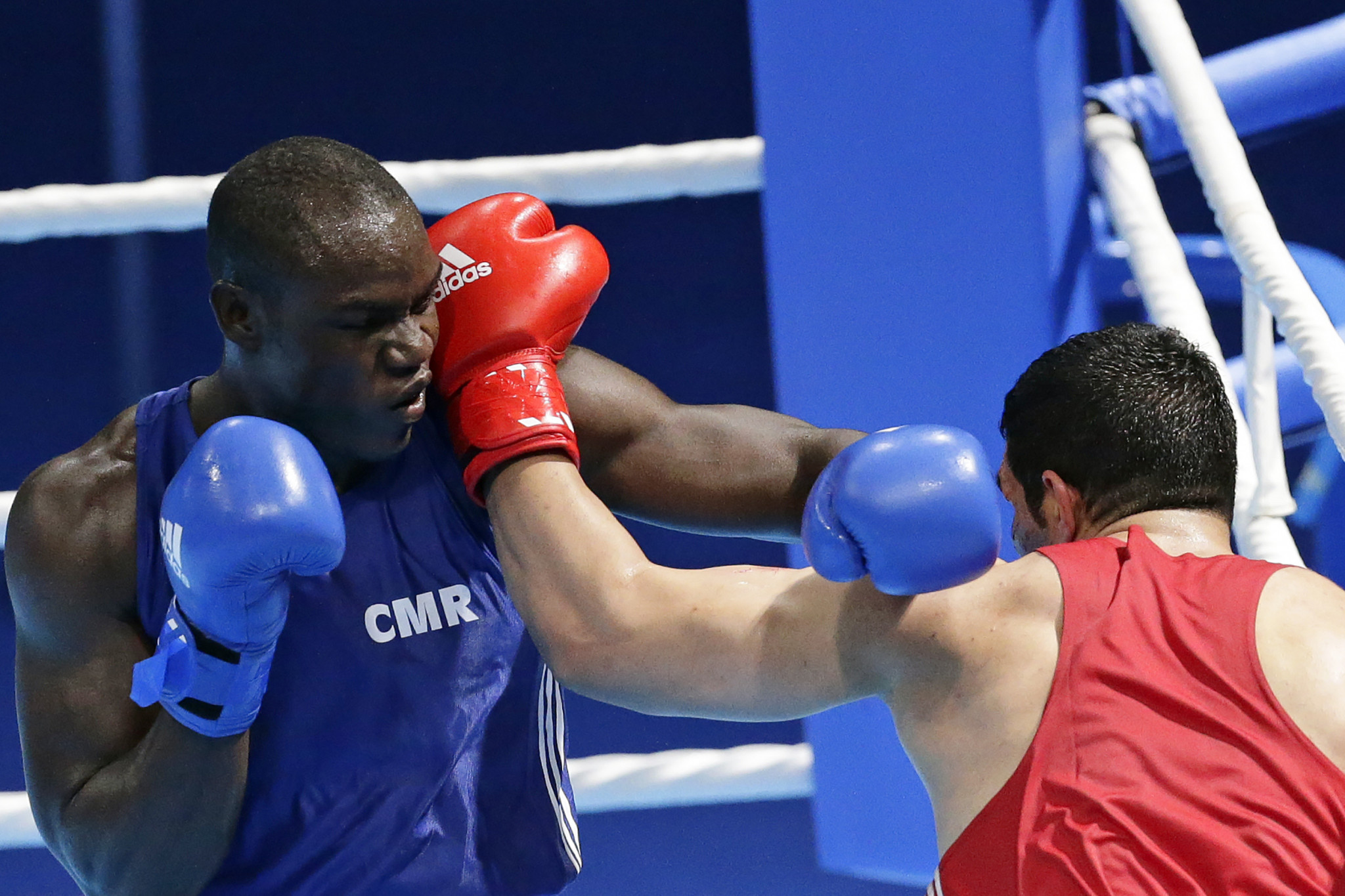 Cameroon's Arsene Fosso was a World Championship bronze medallist in 2017 but was knocked out in the quarter-finals of last year's Commonwealth Games in the Gold Coast ©Getty Images