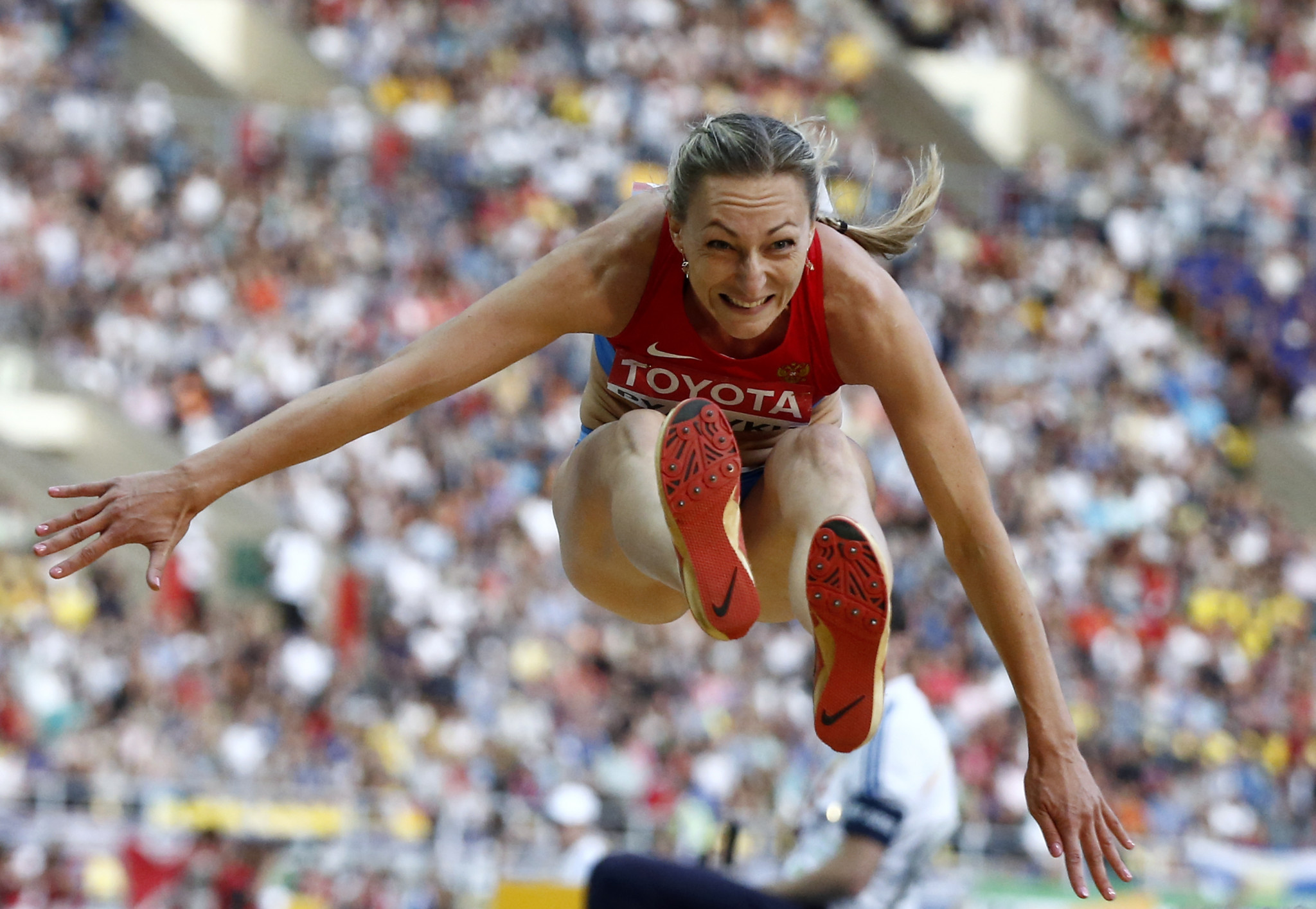 Triple jumper Irina Gumenyuk has had her neutral status extended by the IAAF ©Getty Images