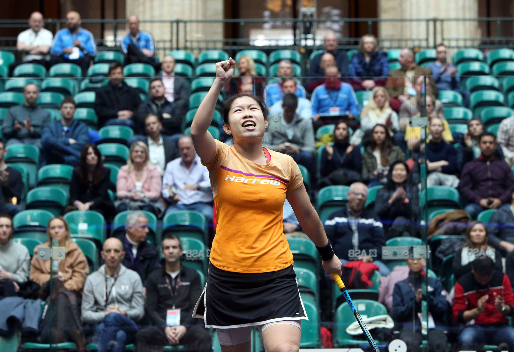 World number 12 Annie Au became the first player from Hong Kong to qualify for the quarter-finals at the World Championships ©PSA