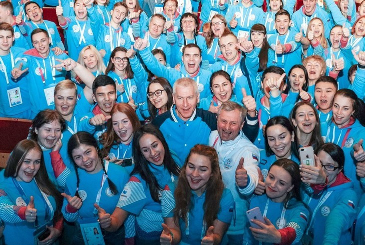 Around 5,000 volunteers are set to work at the Universiade from March 2 to 12 ©Krasnoyarsk 2019