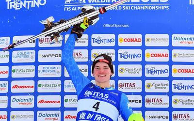 Vinatzer victorious in men's slalom at FIS World Junior Alpine Skiing Championships