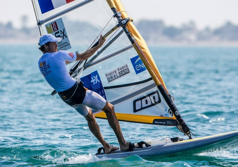 France's Le Coq maintains men's fleet lead at RS:X World Windsurfing Championships