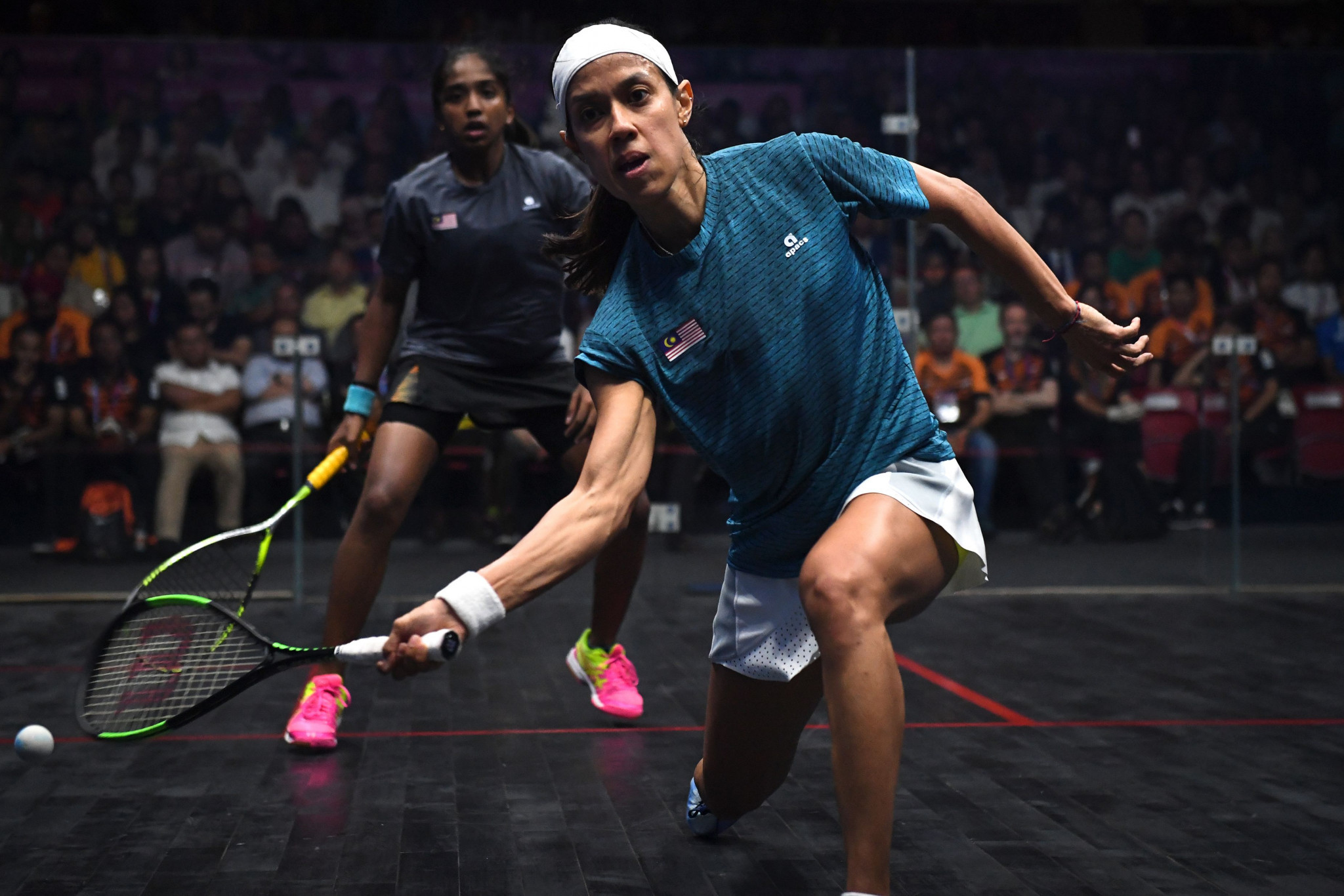 Nicol David's World Championship career is at an end following defeat to France's Camille Serme ©Getty Images